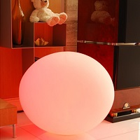 12 Inch Rechargeable Light Sphere with Color Change Remote