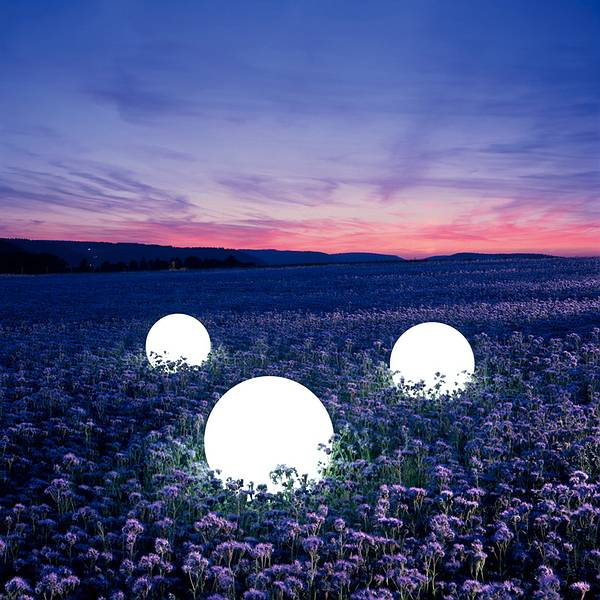 Light Sphere by Moonlight