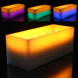 Large LED Candle