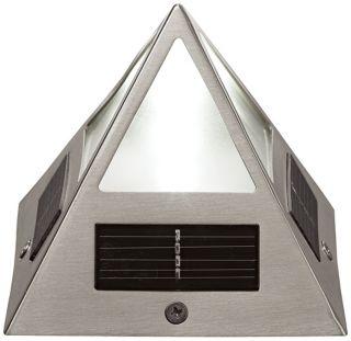 Solar Powered Deck Pyramid