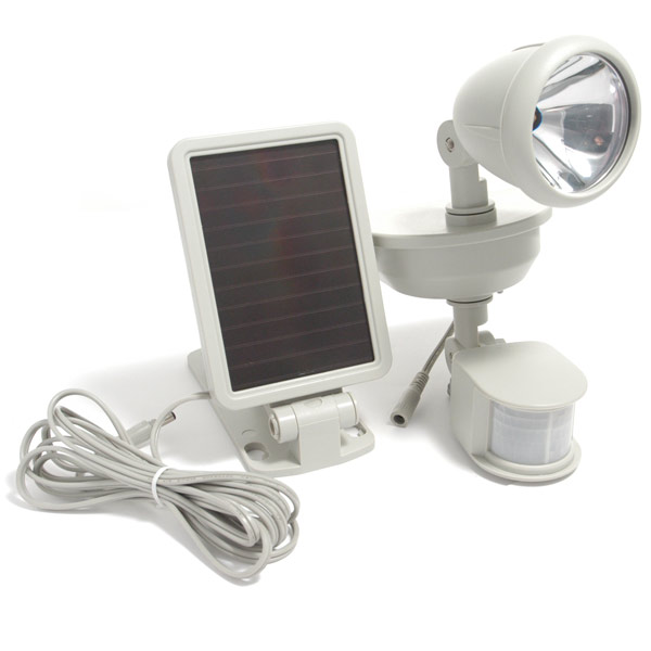 Solar Spotlight with Motion Detector
